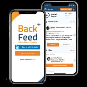 Backfeed+ App Preview